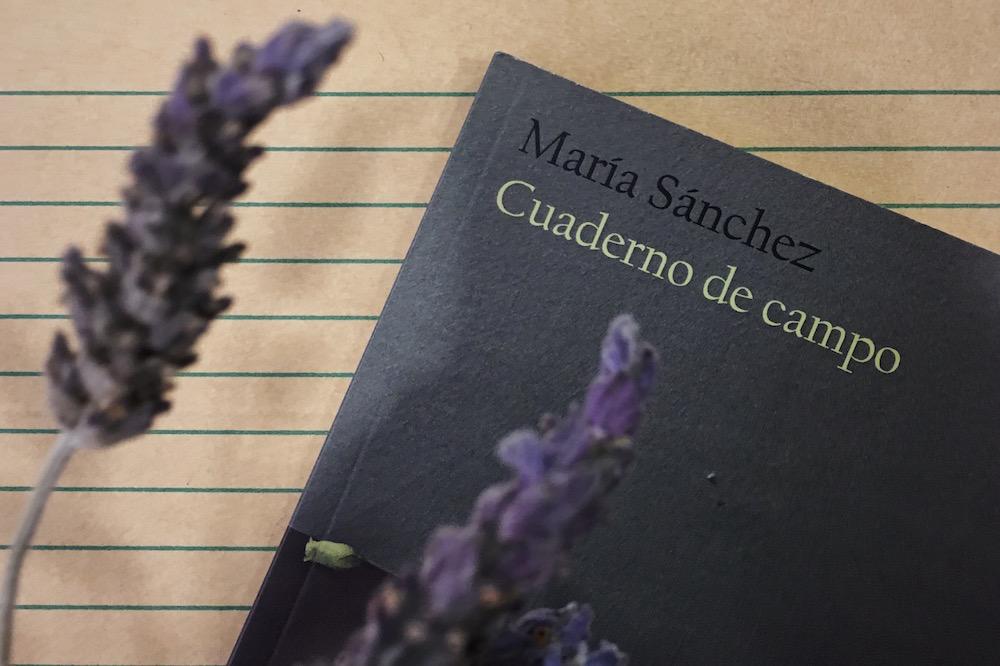 María Sánchez, Cuaderno de campo